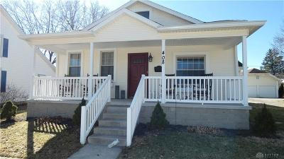 Tipp City Single Family Home Pending/Show for Backup: 408 Broadway Street