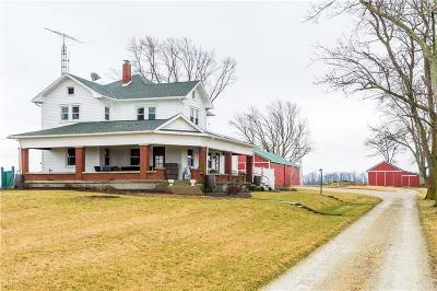 Brookville Single Family Home For Sale: 10768 Sweet Potato Ridge Road