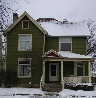 Springfield OH Single Family Home For Sale: $65,000