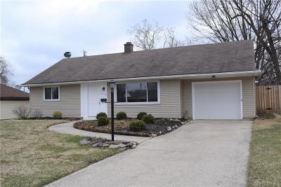 Dayton Single Family Home For Sale: 3740 California Avenue