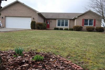 Brookville Single Family Home For Sale: 1191 Johnsville Brookville Road