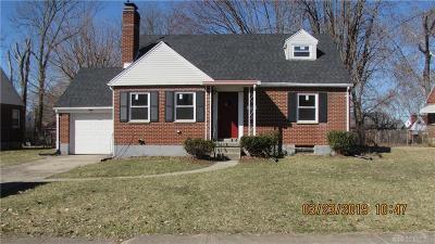 Dayton Single Family Home For Sale: 4029 Myron Avenue
