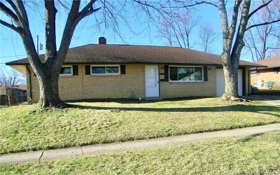 Huber Heights Single Family Home Pending/Show for Backup: 5525 Storck Drive