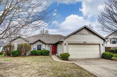 Miamisburg Single Family Home Pending/Show for Backup: 2306 Windsong Court