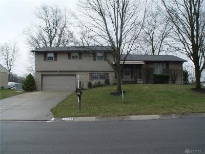 Dayton Single Family Home Pending/Show for Backup: 6472 Noranda Drive