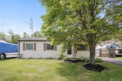 Dayton Single Family Home For Sale: 1282 Sanford Drive