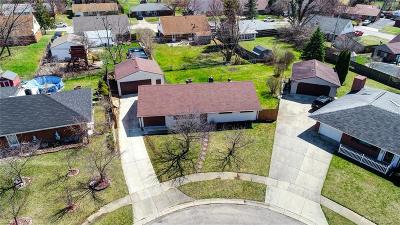 Huber Heights Single Family Home Pending/Show for Backup: 5980 Rena Place