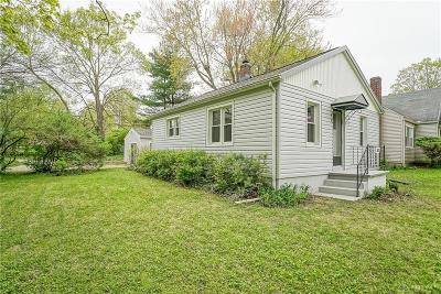 Yellow Springs Single Family Home For Sale: 505 Yellow Springs Fairfie Road