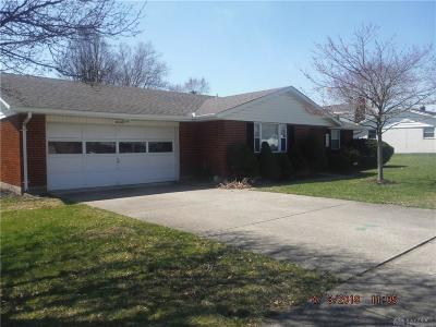 Tipp City Single Family Home Pending/Show for Backup: 610 Broadway Street