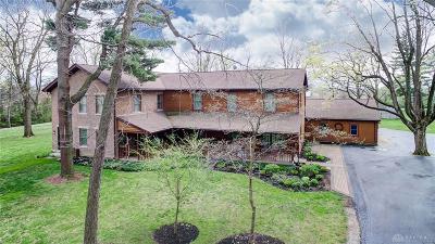 Greene County Single Family Home For Sale: 1835 Dayton Xenia Road