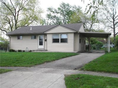 Kettering Single Family Home Pending/Show for Backup: 2964 Peony Place