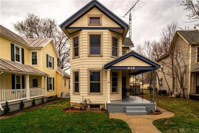 Miamisburg Single Family Home For Sale: 415 Montgomery Street