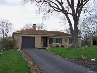 Kettering Single Family Home Pending/Show for Backup: 4233 Stonehaven Road