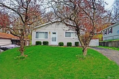 Dayton Single Family Home Pending/Show for Backup: 4421 Sheller Avenue