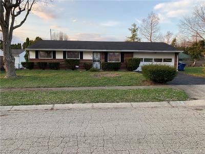 Dayton Single Family Home For Sale: 7412 Maringo Drive