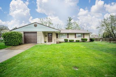 Kettering Single Family Home For Sale: 3024 Santa Rosa Drive