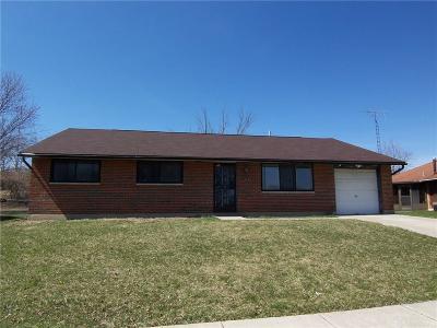Dayton Single Family Home Pending/Show for Backup: 1213 Angier Drive