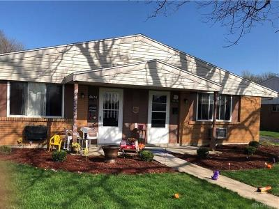 Dayton Multi Family Home For Sale: 4622-4628 Croftshire Drive