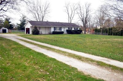 Tipp City Single Family Home Pending/Show for Backup: 4544 Us Route 40