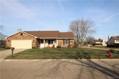 Dayton Single Family Home For Sale: 8610 Deer Haven Street