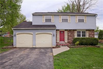 Dayton Single Family Home For Sale: 4030 Terre Linda Drive
