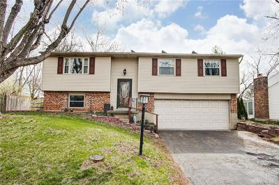 Dayton Single Family Home Pending/Show for Backup: 4966 Amberwood Drive