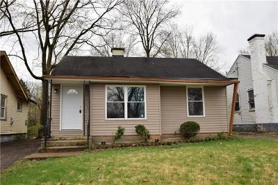 Dayton Single Family Home For Sale: 2818 Preston Avenue