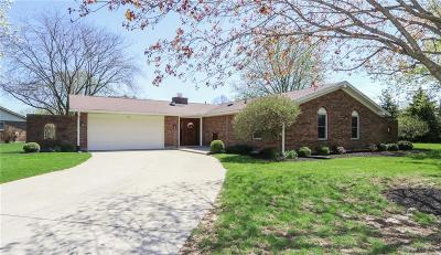 Tipp City Single Family Home Pending/Show for Backup: 50 Estate Drive