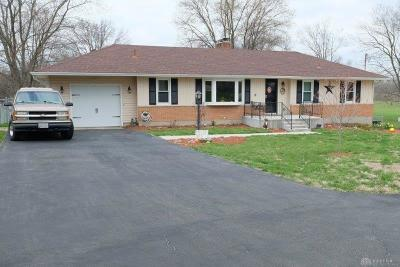 Middletown Single Family Home For Sale: 6124 Todhunter Road