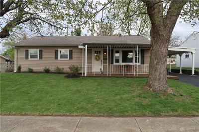 Fairborn Single Family Home Pending/Show for Backup: 1158 Date Street