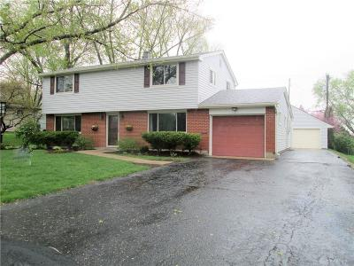 Kettering Single Family Home For Sale: 4541 Bigger Road