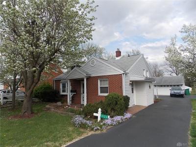 Dayton Single Family Home For Sale: 1524 Barney Avenue