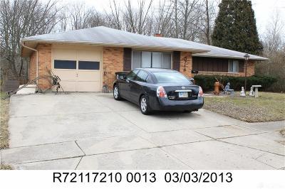 Dayton Single Family Home For Sale: 5718 Durand Street