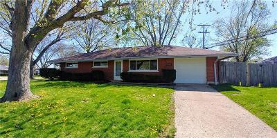 Dayton OH Single Family Home For Sale: $107,900
