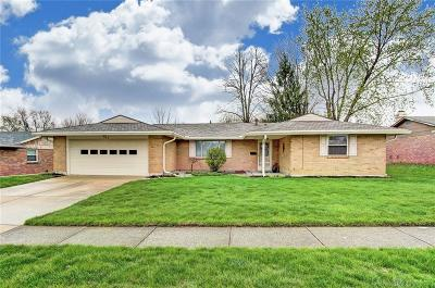 Tipp City Single Family Home For Sale: 742 Rosedale Drive