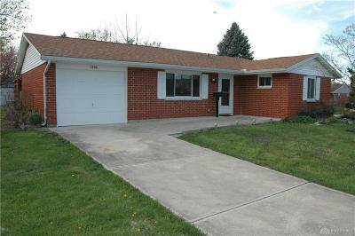 Xenia Single Family Home For Sale: 1396 Sioux Drive
