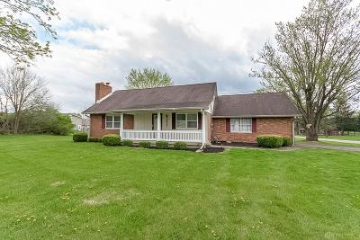 New Carlisle Single Family Home Pending/Show for Backup: 8421 National Road