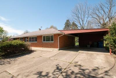 Huber Heights Single Family Home For Sale: 5909 Tibet