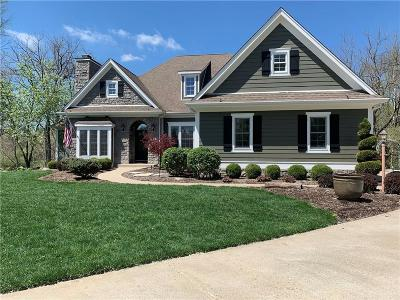 Springboro Single Family Home For Sale: 6953 Bunnell Hill Road