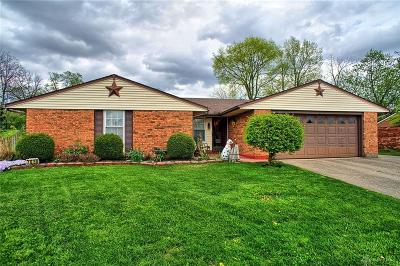 Dayton Single Family Home Pending/Show for Backup: 7650 Rainview Court