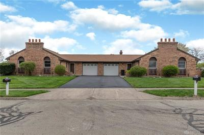 Huber Heights Multi Family Home For Sale: 5295-5297 Coco Drive