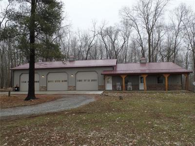 Highland County Single Family Home For Sale: 10545 Horseshoe