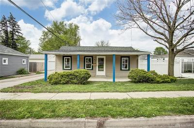 Kettering Single Family Home For Sale: 1225 Colfax Avenue