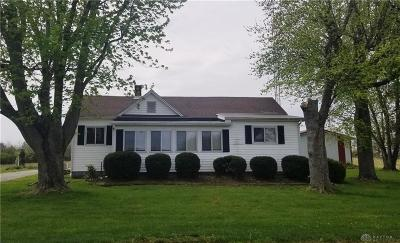 Brookville Single Family Home For Sale: 14382 Amity Road