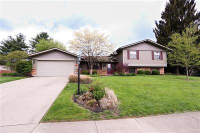 Centerville Single Family Home Pending/Show for Backup: 7570 John Elwood Drive
