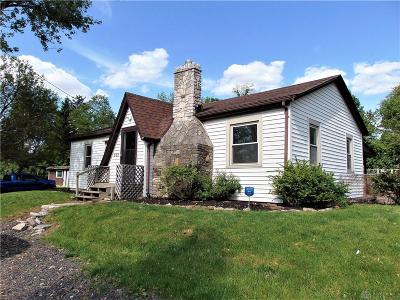Fairborn Single Family Home For Sale: 361 Dayton Yellow Springs Road