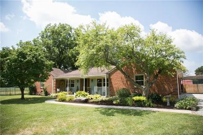 West Milton Single Family Home For Sale: 5660 Davis Road