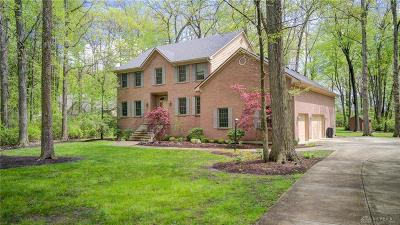 Yellow Springs Single Family Home For Sale: 5300 Clearcreek Trail