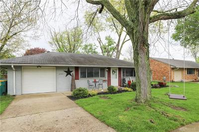 Kettering Single Family Home Pending/Show for Backup: 3795 Cordell Drive