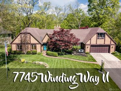Tipp City Single Family Home Pending/Show for Backup: 7745 Winding Way